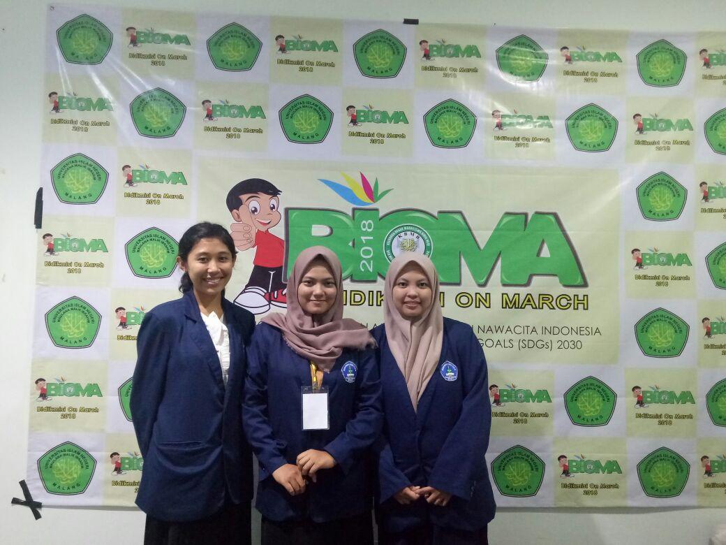 Juara Harapan 1 LKTI Nasional Di UIN Malang