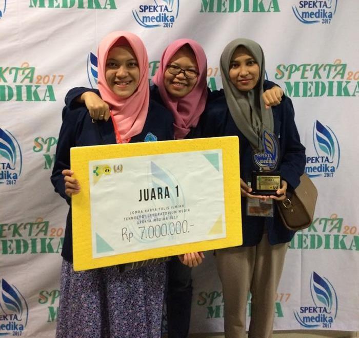 Juara 1 LKTI Spectra 2017