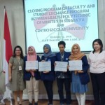 KEGIATAN PERTUKARAN MAHASISWA 2019: FACULTY AND STUDENT EXCHANGE PROGRAM BETWEEN  HEALTH POLYTECHNIC OF MINISTRY IN SURABAYA AND  CENTRO ESCOLAR UNIVERSITY MANILA, PHILIPINES